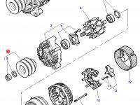 Шкив (ролик) ремня генератора трактора Challenger — 3823684M1