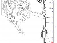 Вилка раскоса навески трактора Challenger — 3902784M1