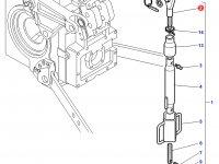 Шарнирная головка/винт раскоса навески трактора Challenger — 3902790M1