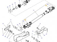 Крестовина карданного вала привода переднего моста трактора Massey Ferguson — 3905496M1