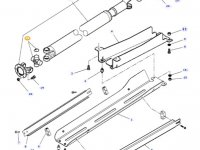 Крестовина карданного вала привода переднего моста трактора Massey Ferguson — 3905871M1