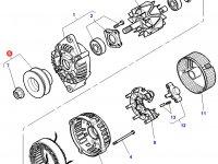 Шкив (ролик) ремня генератора трактора Challenger — 3907189M91