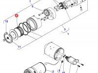 Фильтр гидравлики ВОМ трактора Massey Ferguson — 3907525M1