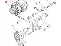 Шкив (ролик) ремня генератора двигателя трактора Massey Ferguson — 3907770M91