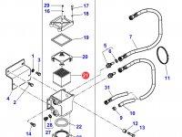 Топливный фильтр двигателя трактора Massey Ferguson — 3907943M1