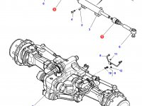 Шарнирный наконечник рулевой тяги трактора Massey Ferguson — 3909318M1