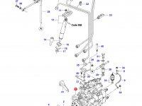 Топливный насос высокого давления (ТНВД) двигателя Sisu Diesel — 836769116