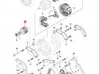 Шкив (ролик) ремня генератора двигателя Sisu Diesel — 836766674
