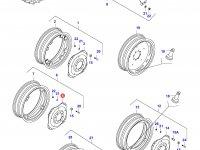 Вставка заднего колесного диска трактора (GKN) — 33374100