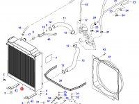 Радиатор двигателя Sisu Diesel — 35223220