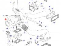 Турбокомпрессор двигателя Sisu Diesel — 836359451