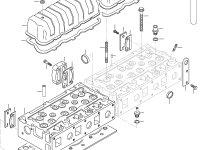 Седло впускного клапана двигателя Sisu Diesel — 837064907