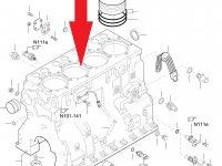 Блок двигателя Sisu Diesel — 836773437
