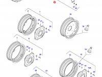 Задний колесный диск - W15Lx34 (NAGBOL) — 30308820