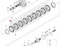 Диск фрикционный КПП сцепление — 35080500