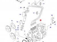 Топливный насос высокого давления (ТНВД) двигателя Sisu Diesel — 836640438
