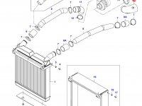 Патрубок интеркулера двигателя Sisu Diesel — 35569000