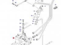 Топливный насос высокого давления (ТНВД) двигателя Sisu Diesel — 836754780