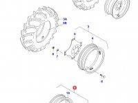 Передний колесный диск - W10x24(M01208) — 30542330