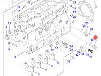 Датчик давления масла в двигателе Perkins трактора Massey Ferguson — 4226184M91
