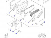 Масляный фильтр двигателя Perkins трактора Massey Ferguson — 4226293M1