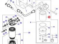 Топливный фильтр двигателя Perkins трактора Massey Ferguson — 4226295M1