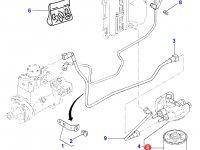 Топливный фильтр двигателя Perkins трактора Massey Ferguson — 4226296M1
