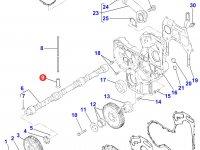 Толкатель клапана двигателя Perkins трактора Massey Ferguson — 4226308M1
