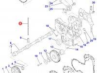 Штанга толкателя клапана двигателя Perkins трактора Massey Ferguson — 4226309M1