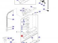 Прокладка клапанной крышки двигателя Perkins трактора Massey Ferguson — 4226375M1
