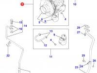 Турбокомпрессор двигателя Perkins трактора Massey Ferguson — 4226451M91