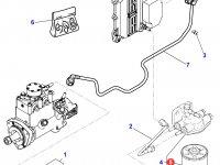 Топливный фильтр двигателя Perkins трактора Massey Ferguson — 4226599M1