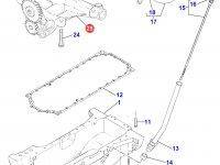 Масляный насос двигателя Perkins трактора Massey Ferguson — 4226605M91
