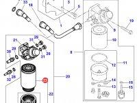 Топливный фильтр двигателя Perkins трактора Massey Ferguson — 4226708M1