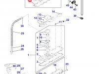 Прокладка клапанной крышки двигателя Perkins трактора Massey Ferguson — 4226712M1