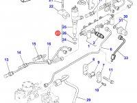 Форсунка двигателя Perkins трактора Massey Ferguson — 4226782M1