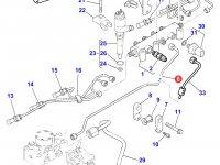 Топливная трубка двигателя Perkins трактора Massey Ferguson — 4226851M1
