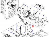 Трос включения пониженной передачи трактора Massey Ferguson — 4271476M1