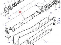 Карданный вал привода переднего моста трактора Challenger — 4271815M91