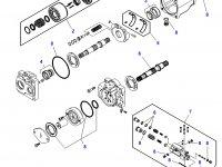 Насос гидравлический трактора Challenger — 4272110M1