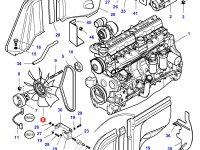 Крыльчатка (вентилятор) радиатора трактор Challenger — 4274231M1