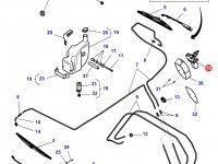 Моторчик щетки стеклоочистителя трактора Challenger — 4275051M1