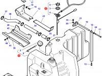 Дополнительный топливный бак трактора Challenger (350 литров) — 4275493M93