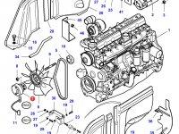 Вискомуфта вентилятора трактор Challenger — 4276064M1
