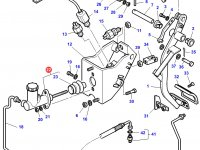 Выжимной цилиндр педали сцепления трактора Challenger — 4278077M1