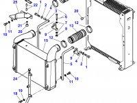 Патрубок интеркулера двигателя трактора Massey Ferguson — 4279550M1