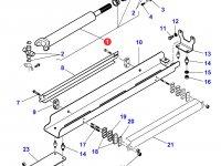 Карданный вал привода переднего моста трактора Massey Ferguson — 4280093M92