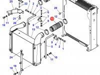 Патрубок интеркулера двигателя трактора Massey Ferguson — 4280159M3