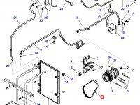 Ремень компрессора кондиционера трактора Challenger — 4281051M2