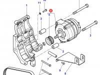 Генератор двигателя трактора Massey Ferguson — 4281877M93